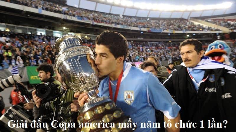 Giải đấu Copa america mấy năm tổ chức 1 lần?